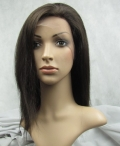Silk top cap full lace wig for black women silky straight