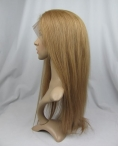 Silk top cap full lace wigs for women silky straight