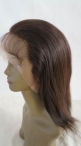 Natural affordable full lace wigs human hair silk top lace wigs indian remy hair 12 inch #2
