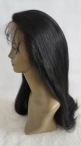 Natural wigs for women chinese virgin hair silk top glueless full lace wigs 22 inch #1