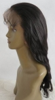 Best full lace wigs online indian remy human hair body wave 16 inch #1b
