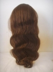 Indian remy body wave human hair glueless full lace wigs