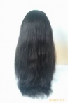 Lace front wigs for white women natural sraight indian remy hair