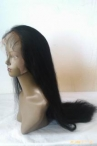 Natural lace front wigs indian remy human hair