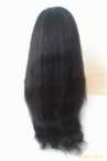 Human lace front wigs for cheap natural sraight indian remy hair