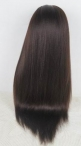 Glueless lace wigs uk indian remy human hair silk top wigs