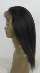 Cheap human full lace wigs silk top glueless lace wigs coarse yaki