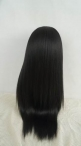 Yaki full lace wig with silk top glueless human hair