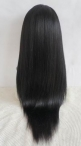 Light yaki silk top  full lace wigs indian remy human hair