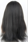 Glueless silk top full lace wigs in stock  Italian yaki straight 20