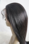 glueless full lace with silk top lace wigs color #1b natural straight freely curl