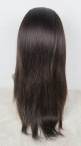 silk top  glueless lace wigs chinese  virgin hair natural straight full lace wig