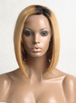 Custom order virgin human hair Beyonce Bob style hair wig same with this picture