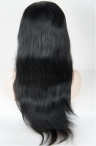 glueless full lace wigs indian remy hair silky straight