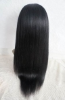 18inch #1 glueless silk top light yaki full lace wigs chinese virgin hair