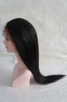 lace front wigs with baby hair for black women Yaki 24 inch #1b
