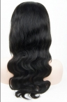 Indian remy hair glueless full lace 20 inch color #1 body wave