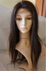 Common full lace coarse yaki Indian remy human hair 18 inch #2