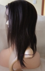 Indian remy human hair full lace free style wigs light yaki 12 inch #2