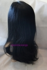 Buy cheap wigs online glueless silk top lace wigs natural straight 18 inch #1