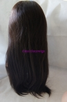 Silk top full lace wigs Chinese virgin hair natural straight 20 inch #2