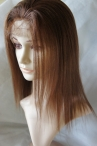 Cheap african american wigs Glueless yaki remy human hair 12 inch #4