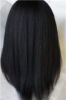 in stock full lace wigs italian Yaki 16 inch #1