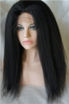 Wholesale silk top full lace wigs italian yaki human hair