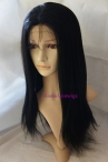 Cheap indian remy hair for sale silk top glueless lace wigs yaki