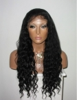 making custom order Indian Remy lace wigs human hair curly full lace wigs with silk top