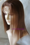 Full lace cap coarse Yaki lace wigs remy human hair 12 inch #4