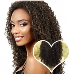 Cheap human hair full lace wigs with baby hair indian remy hair curly 16 inch #1b
