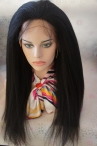 glueless full lace wigs with clips for cheap Italian yaki 16'' 18'' 20'' 22'' #1 #1b #2 #4