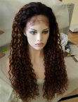 Full Lace Wigs Wave Malaysian Virign Hair Human Hair With Baby Hair