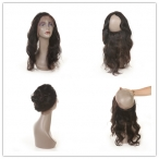 360 Lace Frontal Wig Body Wave 22*4*2inch Brazilian Virgin Human Hair with Baby Hair