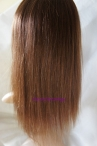 full lace with silk top wig coarse yaki remy human hair 12 inch #4