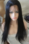 real wigs for women silk top light yaki indian remy hair 20 inch #1