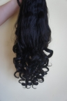 lace front wigs that look natural wave remy human hair 20 inch #1b