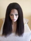 Full lace wigs for white women for sale indian human hair italian yaki