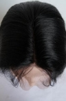 full lace wigs with baby hair silky straight remy hair 22 inch #1