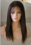 the best remy hair silk top coarse yaki 16 inch #2