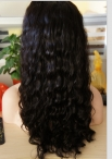 Curly wigs for black women 100% indian remy human hair full lace wigs