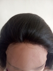 22 inch glueless silk top wig yaki straight
