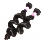8A Peruvian Virgin Unprocessed Human Hair Weave 3pcs 4pcs/lot Loose Wave Hair Bundles
