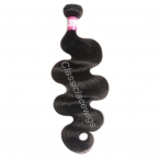 Wholesale Brazilian virgin hair body wave weave extensions natural color