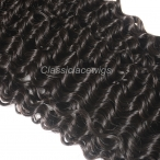 8-26inch Malaysian Virgin Human hair Weave Hair Weft Extension Curly