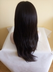 Glueless Silk top full lace wigs sales Malaysian virgin  hair silky straight
